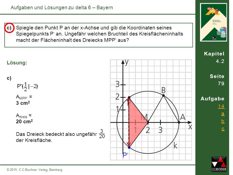 P' Aufgaben und Lösungen zu delta 6 – Bayern