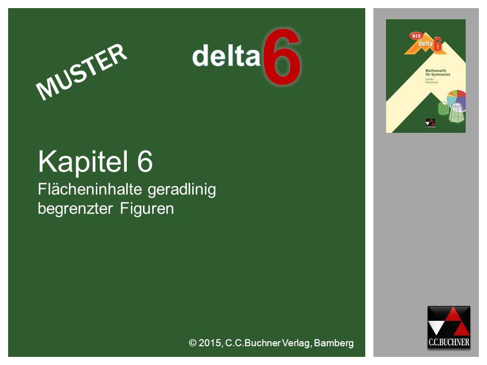 6 delta Kapitel 6 MUSTER Flächeninhalte geradlinig begrenzter Figuren