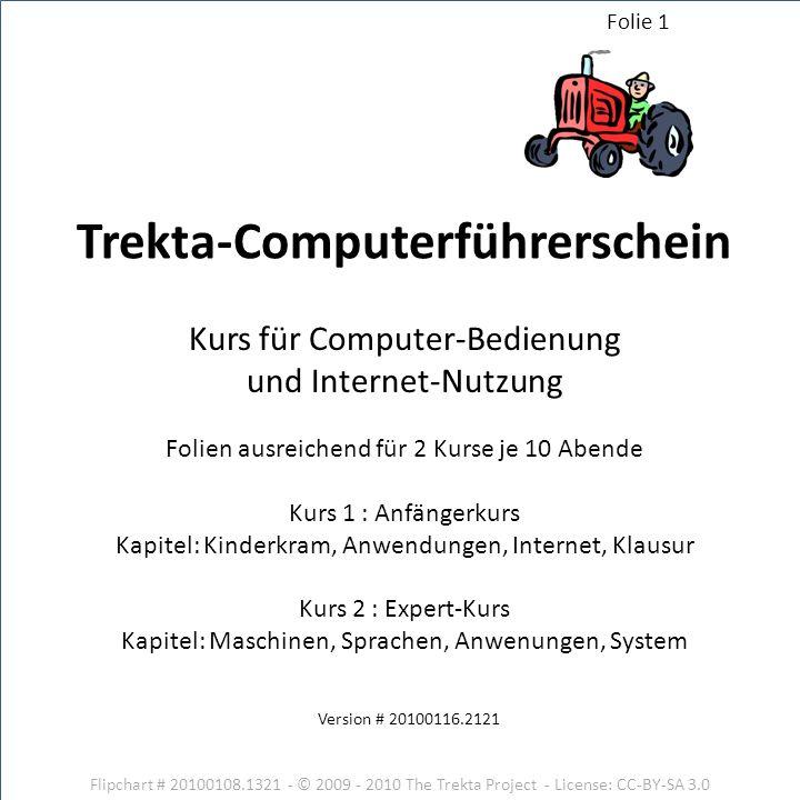 Trekta-Computerführerschein