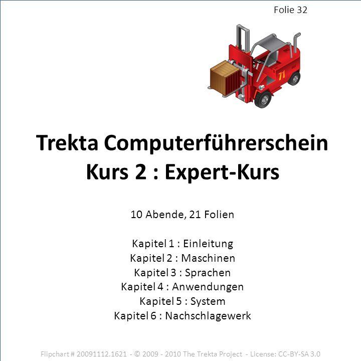 Trekta Computerführerschein Kurs 2 : Expert-Kurs