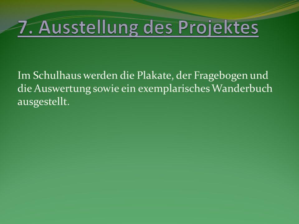7. Ausstellung des Projektes