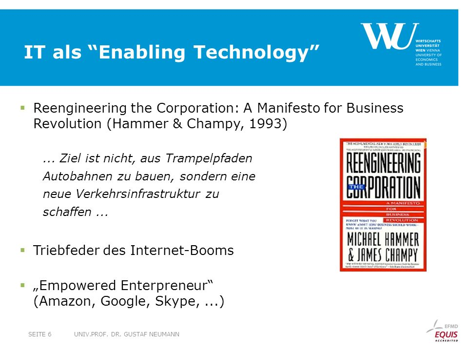IT als Enabling Technology