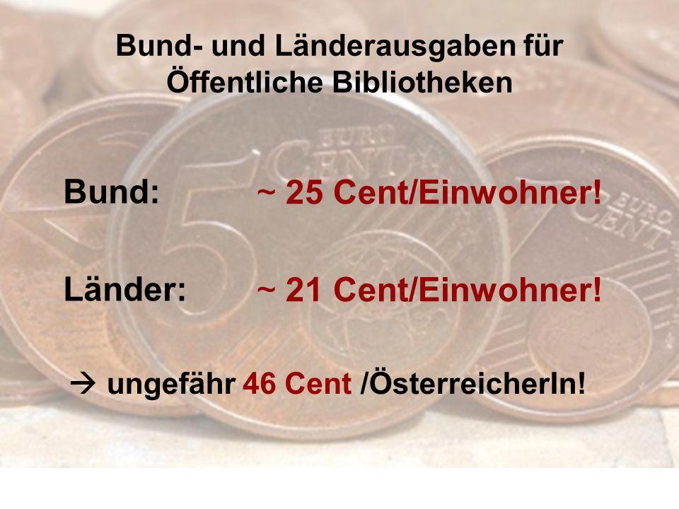 Bund- und Länderausgaben für Öffentliche Bibliotheken