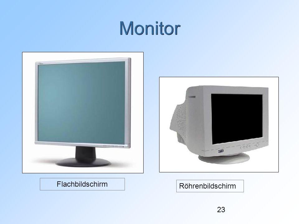 Monitor Flachbildschirm Röhrenbildschirm