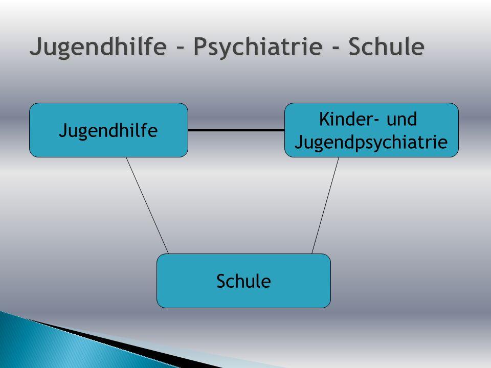 Jugendhilfe – Psychiatrie - Schule
