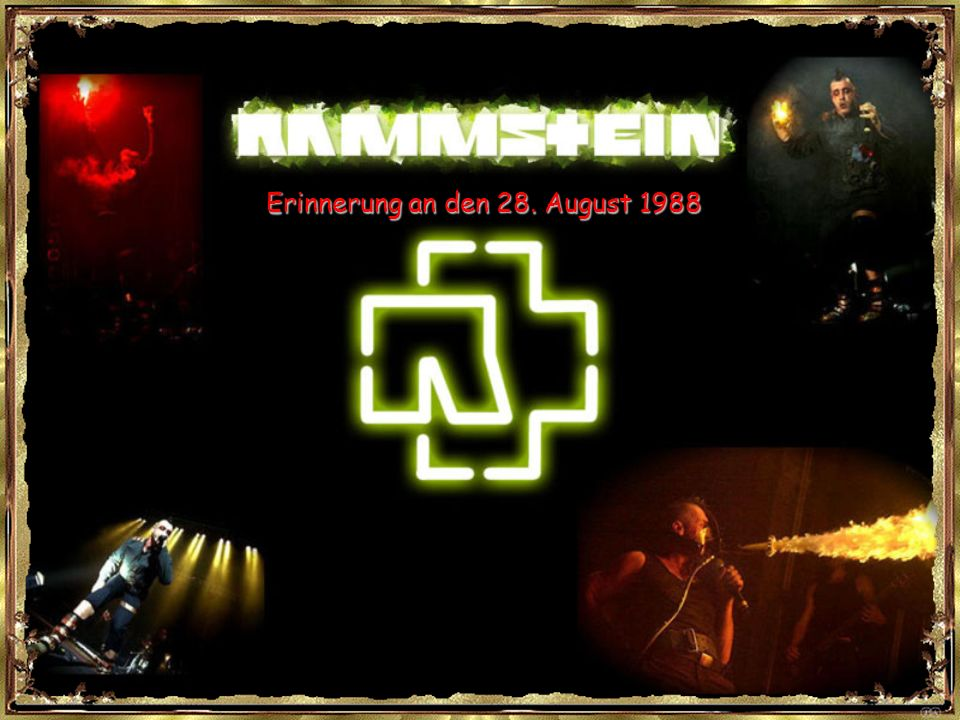 Erinnerung an den 28. August 1988