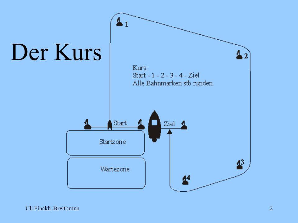 Der Kurs Uli Finckh, Breitbrunn