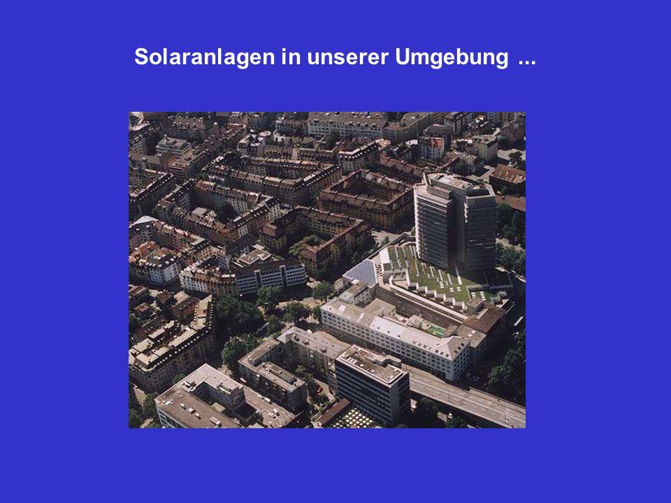 Solaranlagen in unserer Umgebung ...