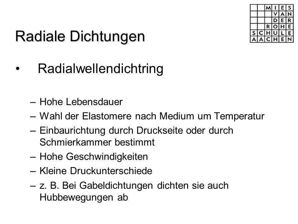Radialwellendichtring