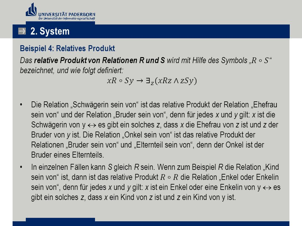 2. System Beispiel 4: Relatives Produkt