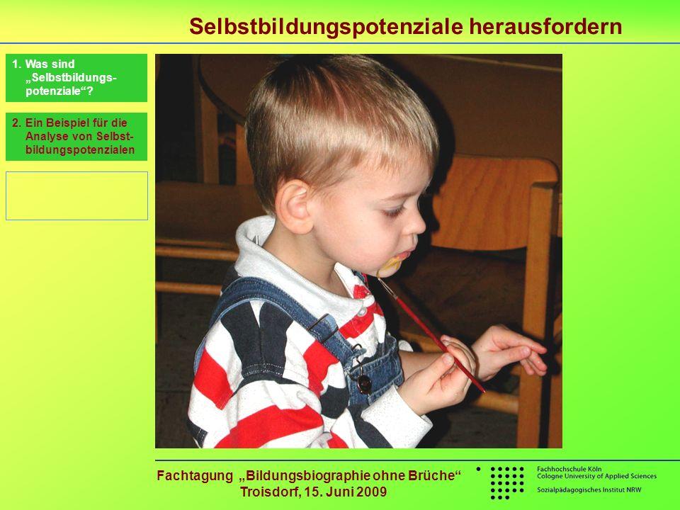 """Fachtagung """"Bildungsbiographie ohne Brüche Troisdorf, 15. Juni 2009"""