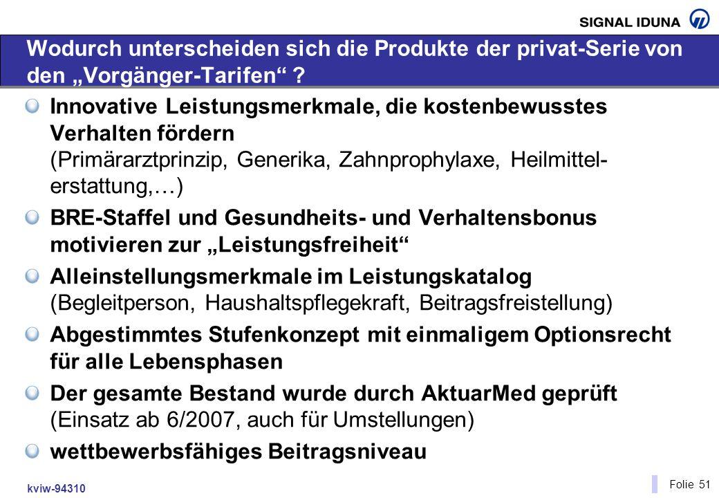 """Wodurch unterscheiden sich die Produkte der privat-Serie von den """"Vorgänger-Tarifen"""