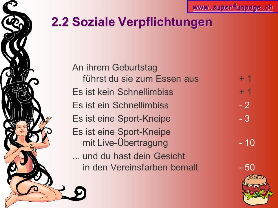 2.2 Soziale Verpflichtungen