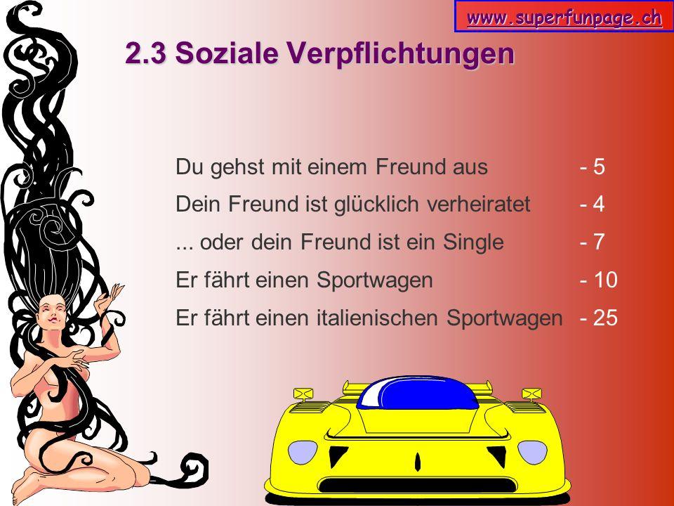 2.3 Soziale Verpflichtungen