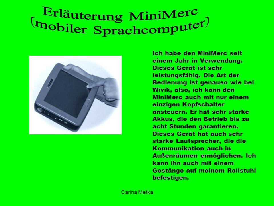 (mobiler Sprachcomputer)