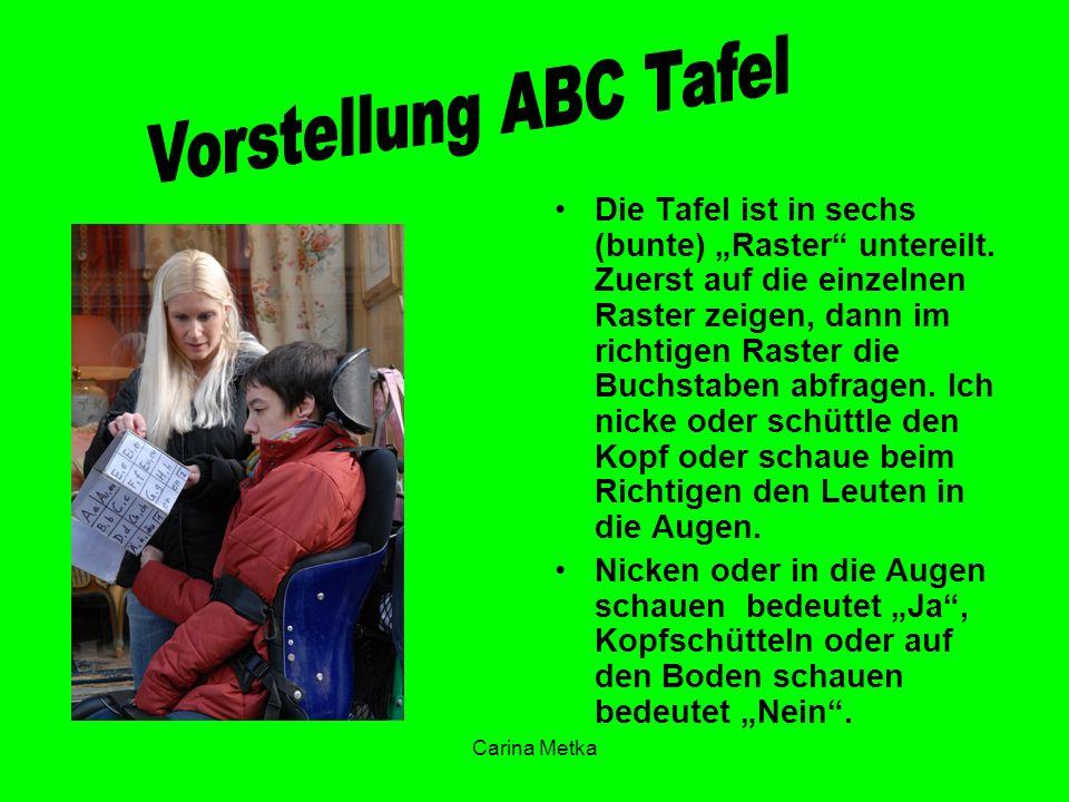 Vorstellung ABC Tafel