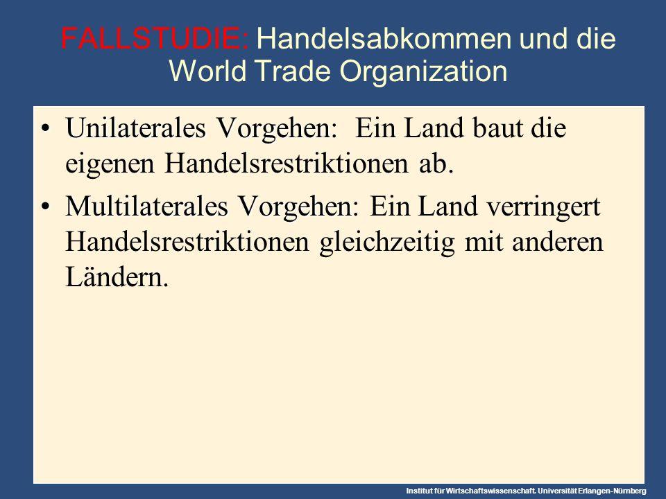 FALLSTUDIE: Handelsabkommen und die World Trade Organization