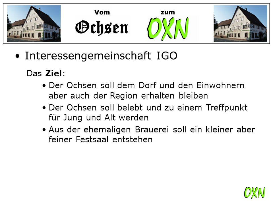 Interessengemeinschaft IGO