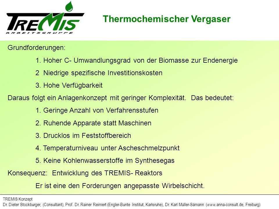 Thermochemischer Vergaser