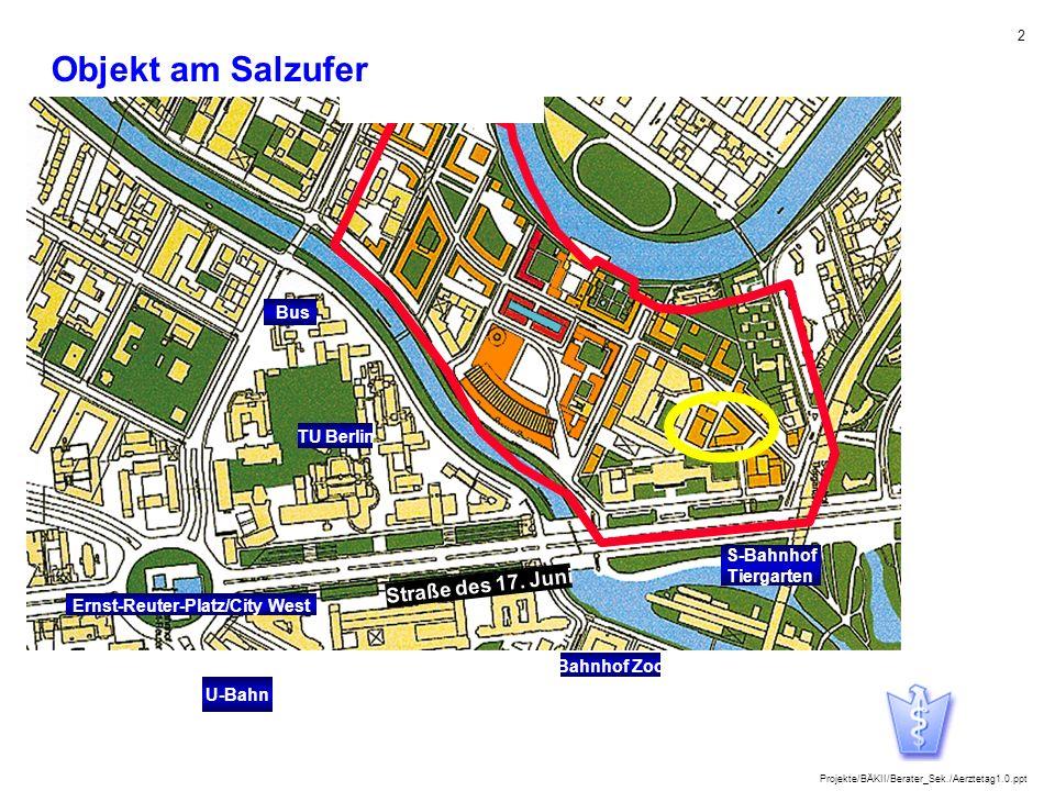 Objekt am Salzufer Straße des 17. Juni Bus TU Berlin S-Bahnhof