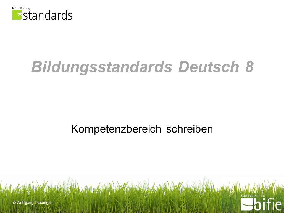Bildungsstandards Deutsch 8