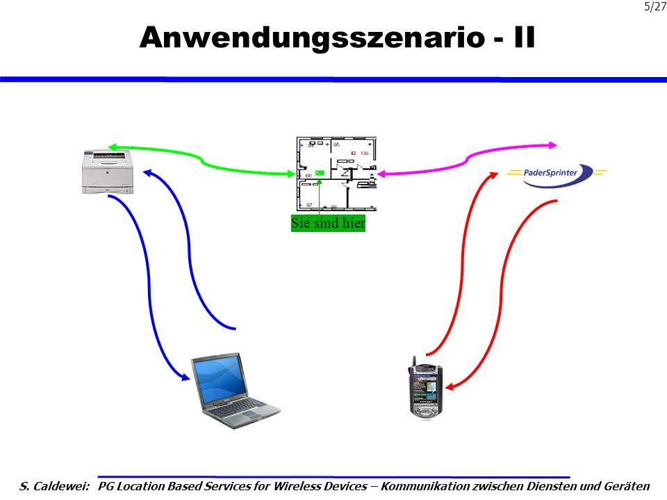 Anwendungsszenario - II