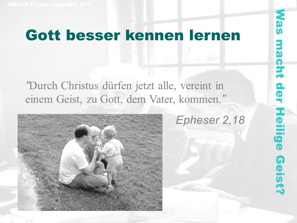Gott besser kennen lernen