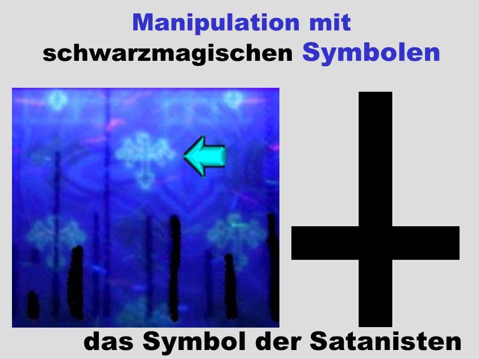 Manipulation mit schwarzmagischen Symbolen
