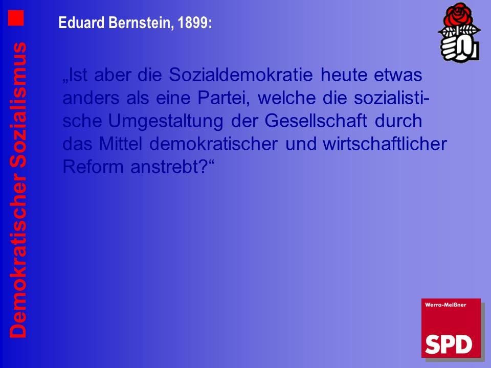 Eduard Bernstein, 1899: