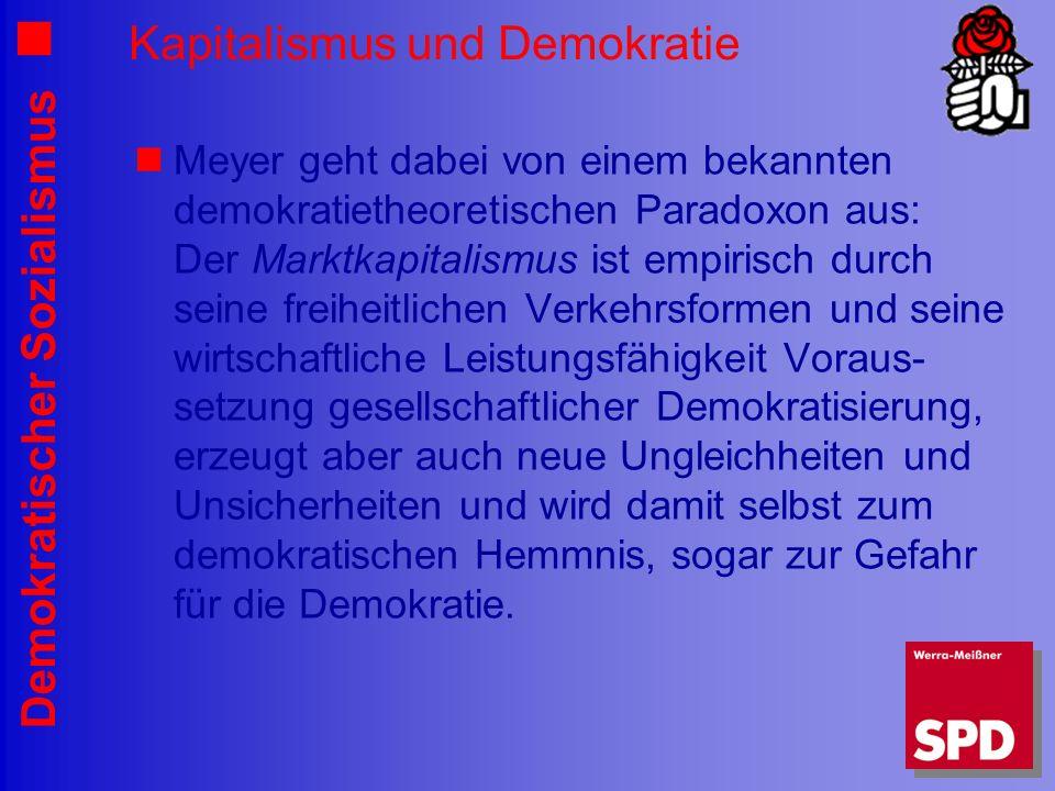 Kapitalismus und Demokratie