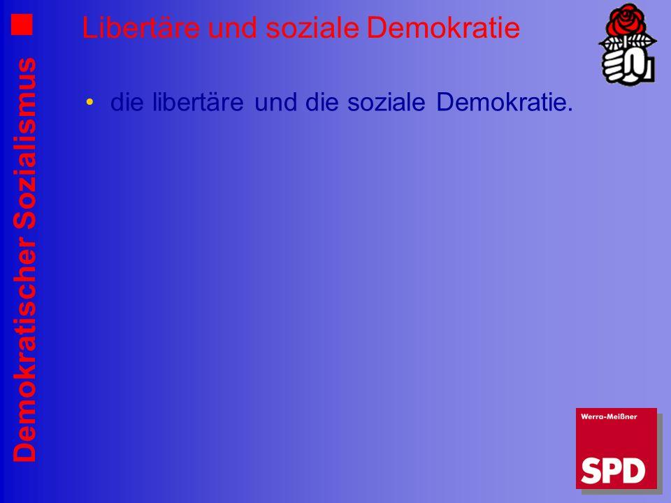 Libertäre und soziale Demokratie