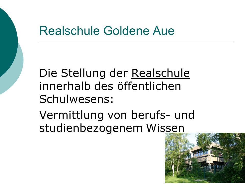 Realschule Goldene Aue