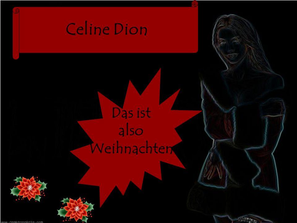 Celine Dion Das ist also Weihnachten