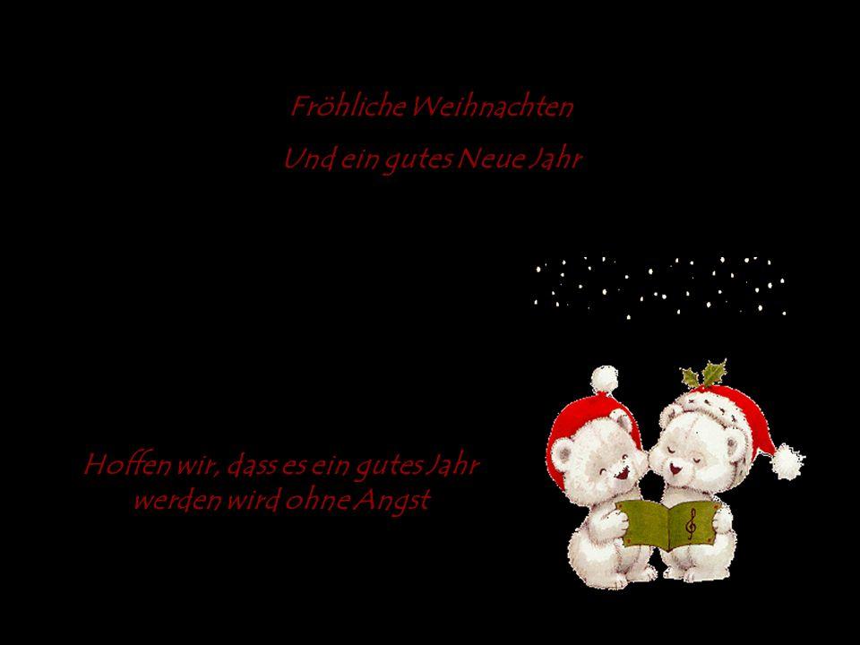 Fröhliche Weihnachten Und ein gutes Neue Jahr