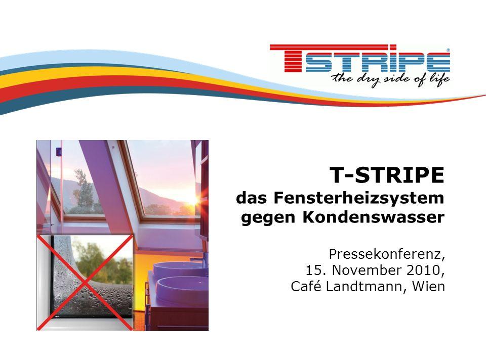 T-STRIPE das Fensterheizsystem gegen Kondenswasser