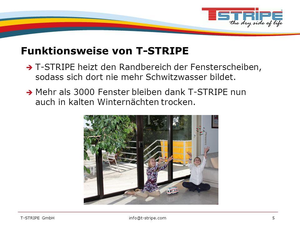 Funktionsweise von T-STRIPE