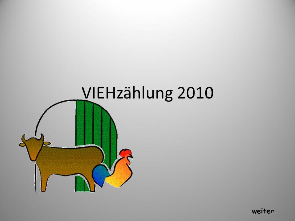 VIEHzählung 2010 weiter