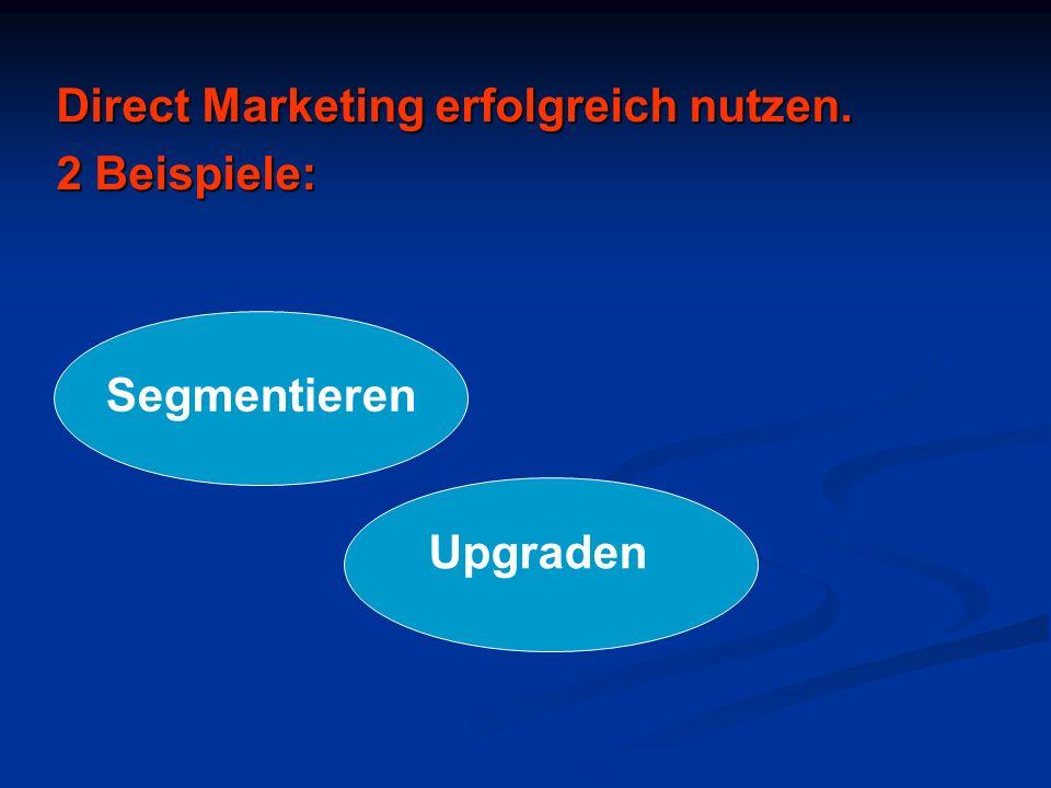 Direct Marketing erfolgreich nutzen.