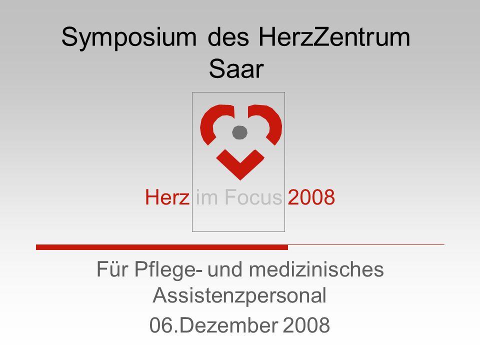 Symposium des HerzZentrum Saar