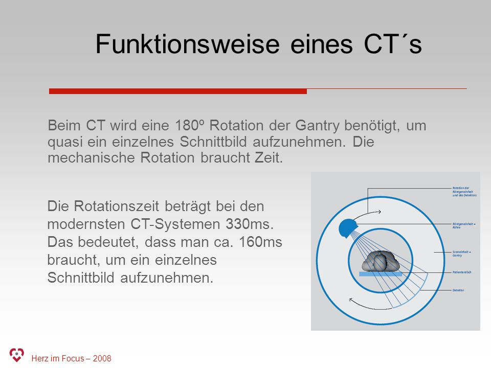 Funktionsweise eines CT´s
