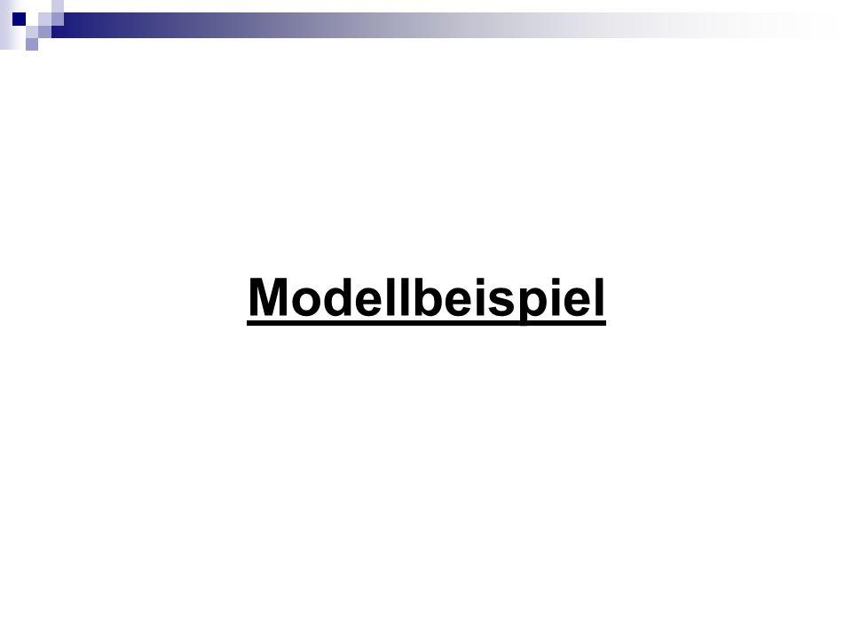 Modellbeispiel