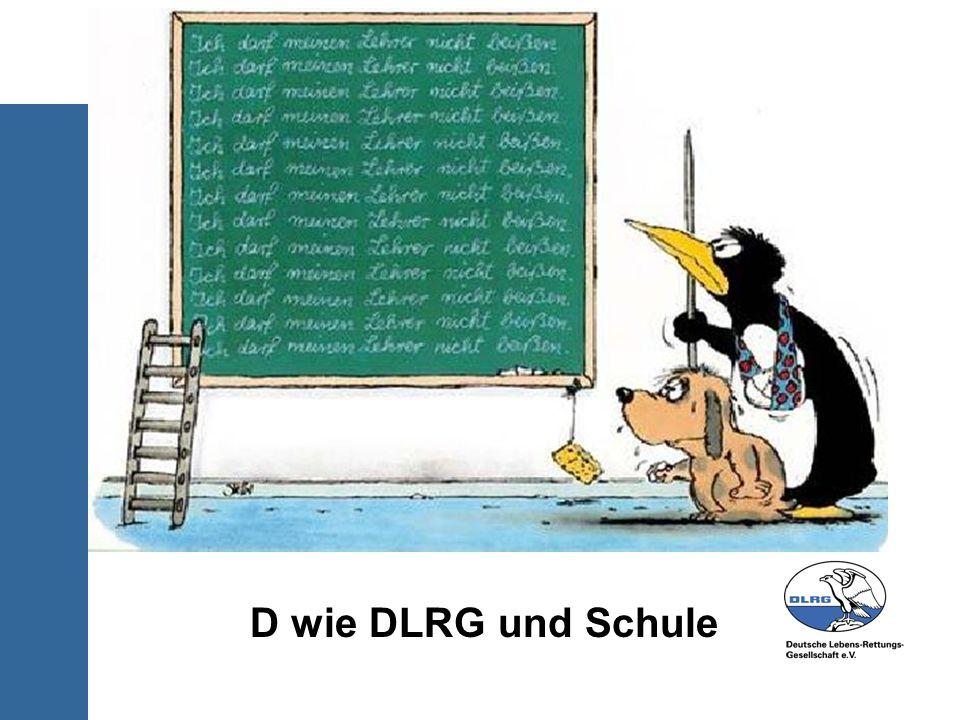 D wie DLRG und Schule