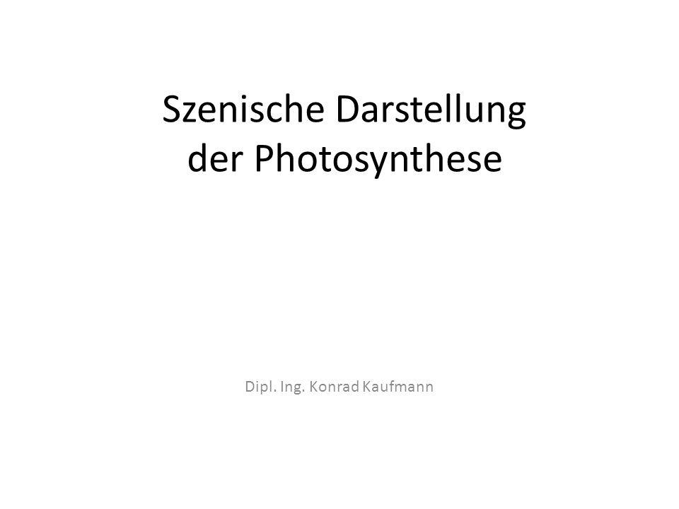 Szenische Darstellung der Photosynthese
