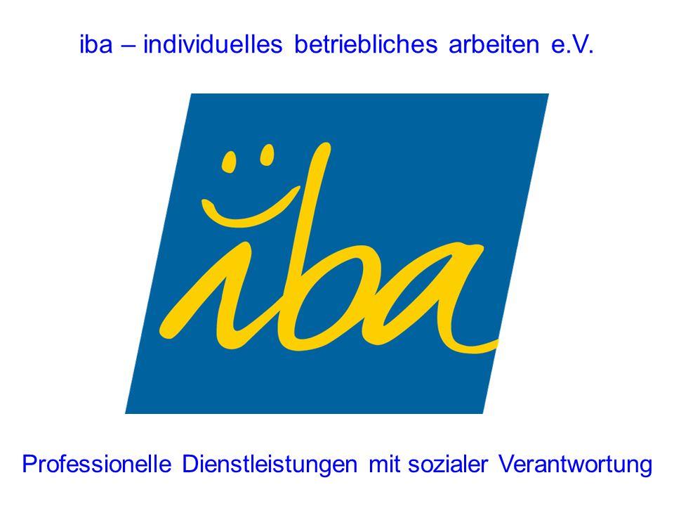 iba – individuelles betriebliches arbeiten e.V.