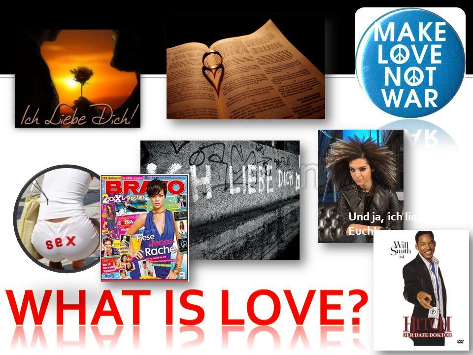 What is Love Inflation Und ja, ich liebe Euch!