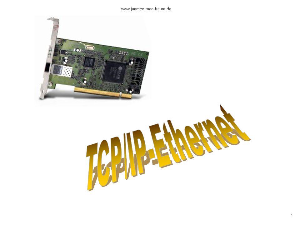 www.juamco.mec-futura.de TCP/IP-Ethernet