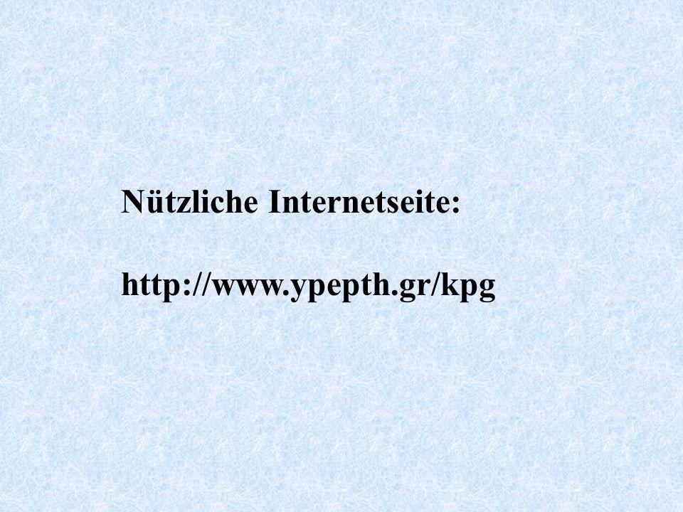 Nützliche Internetseite: