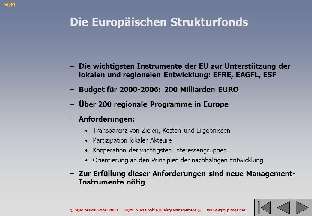 Die Europäischen Strukturfonds