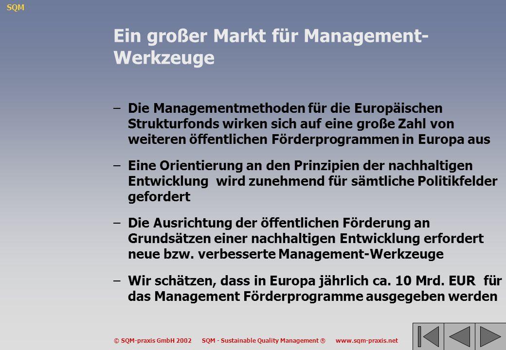 Ein großer Markt für Management-Werkzeuge