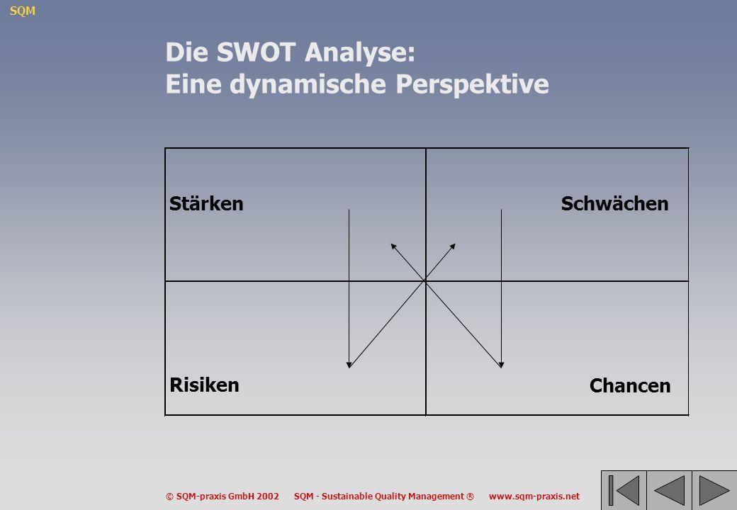Die SWOT Analyse: Eine dynamische Perspektive